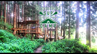 nozawa green field  -TREE CAMP & SUP TOURING-