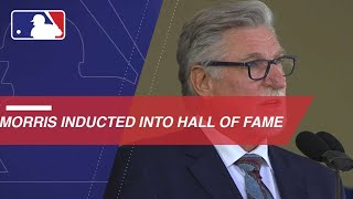 Jack Morris inducted into Hall of Fame