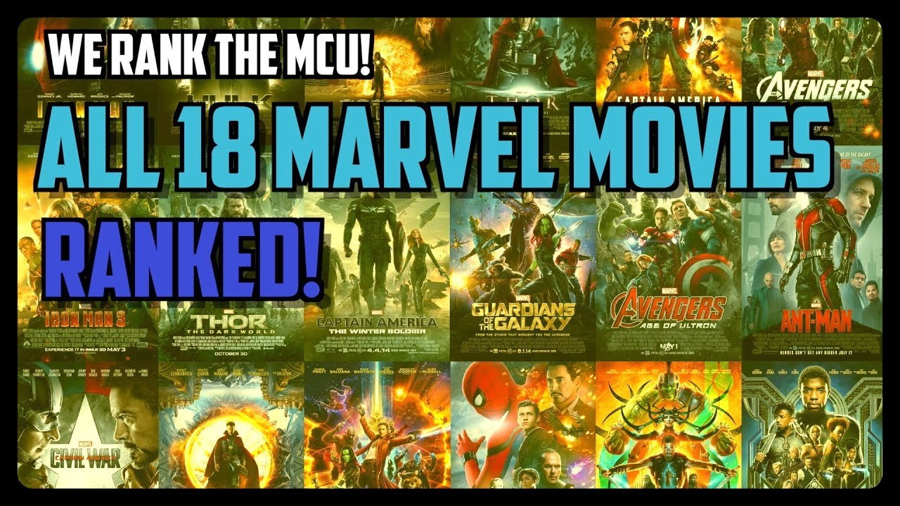 The Definitive Ranking of All 18 MCU Movies (Video)