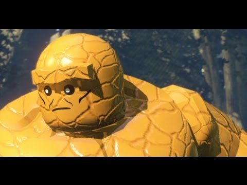 LEGO Marvel Super Heroes 100% Walkthrough Part 12 - Rapturous Rise (Mystique Boss Fight)