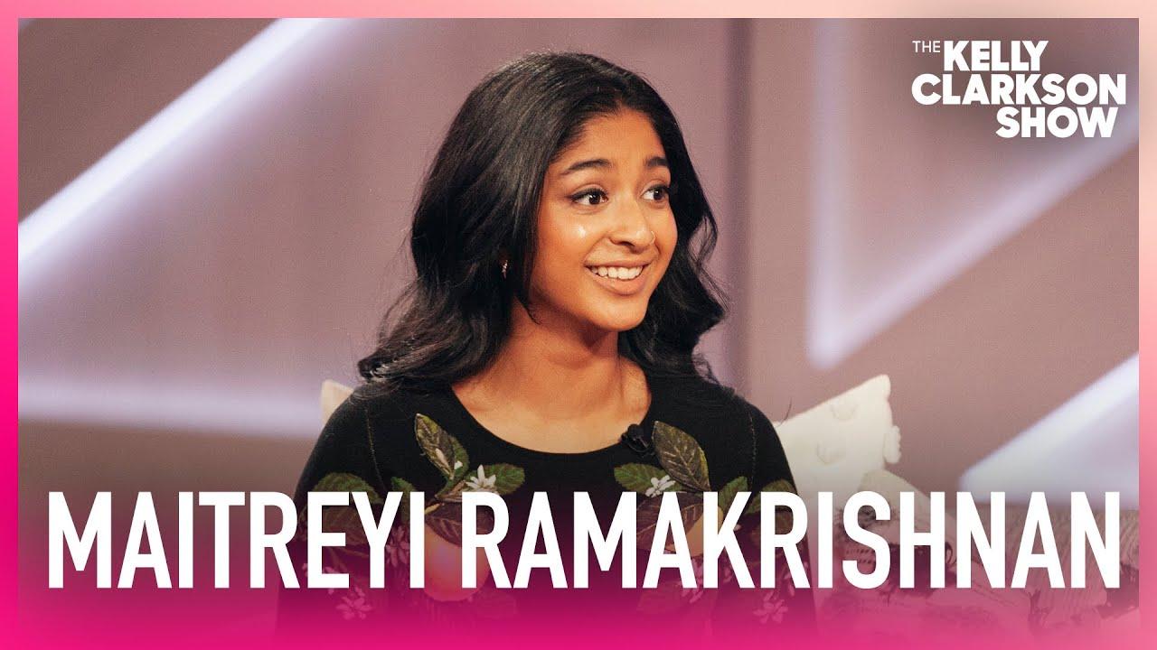 Maitreyi Ramakrishnan Compares Learning To Drive To Mario Kart & Worries Kelly