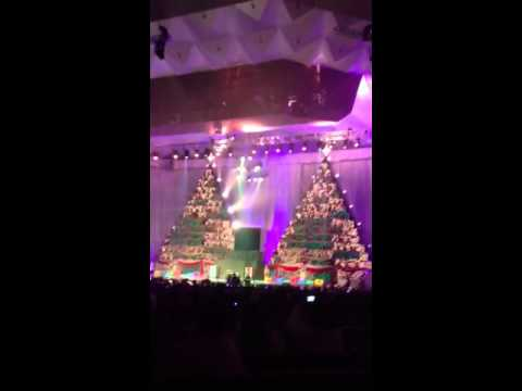 Singing Christmas Trees- First Baptist of Orlando
