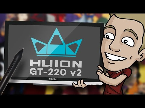 Digital Tablet Review - HUION GT-220 v2 - IPS Pen Display
