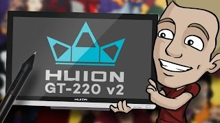 Digital Tablet Review – HUION GT-220 v2 – IPS Pen Display