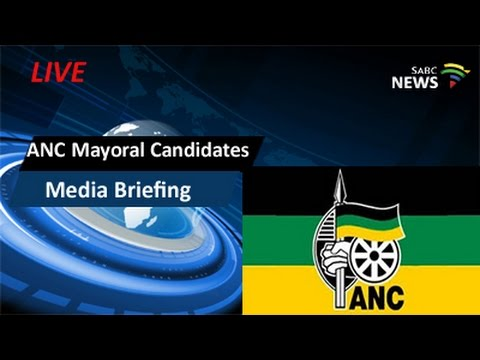 ANC Mayoral Candidates Media Briefing, Pretoria: 18 June 2016