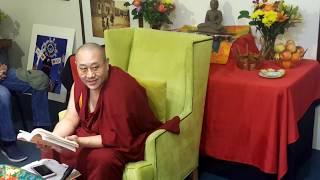 Khenpo Thubten Gongphel  - Three Visions:  Part Four -Tsechen Namdrol Ling  Santa Fe NM