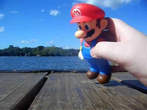 Mario and luigi go to the lake youtube for Mario go fish