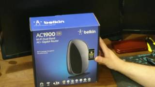 Belkin AC 1900 DB Router Unboxing