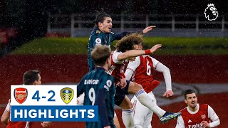 Arsenal 4-2 Leeds United | Premier League highlights