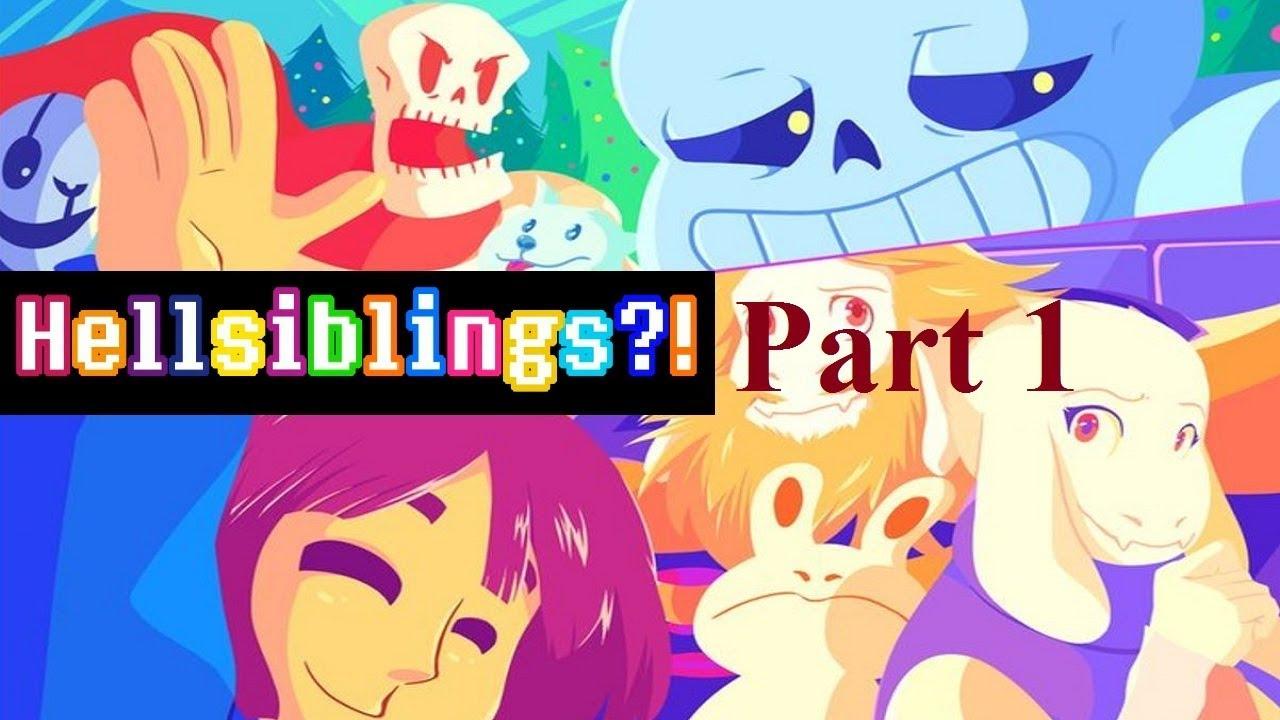 Download 【Undertale】Hellsiblings Part 1- English Dub (Undertale Comic Dub)