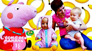 Vidéo pour enfants. Ecoles des mamans : un tapis mou ludique
