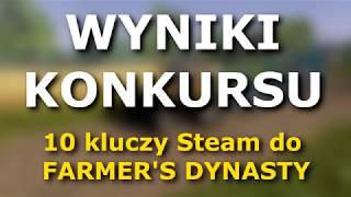 WYNIKI KONKURSU - 10 kluczy do Farmer's Dynasty!