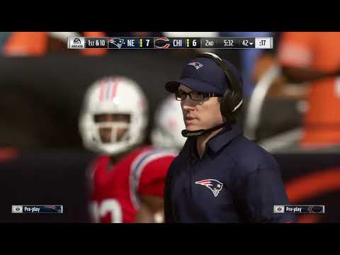 Madden 19 Week 7 Patriots VS Bears
