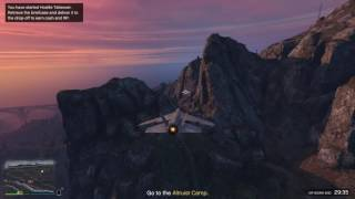 GTA 5 Online (PC) - VIP missions, the wave trick
