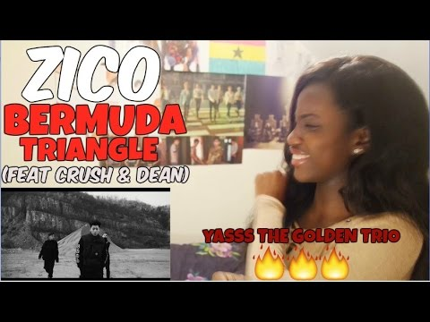 ZICO (지코) - BERMUDA TRIANGLE (Feat. Crush, DEAN) MV REACTION [THIS BEAT THO!]