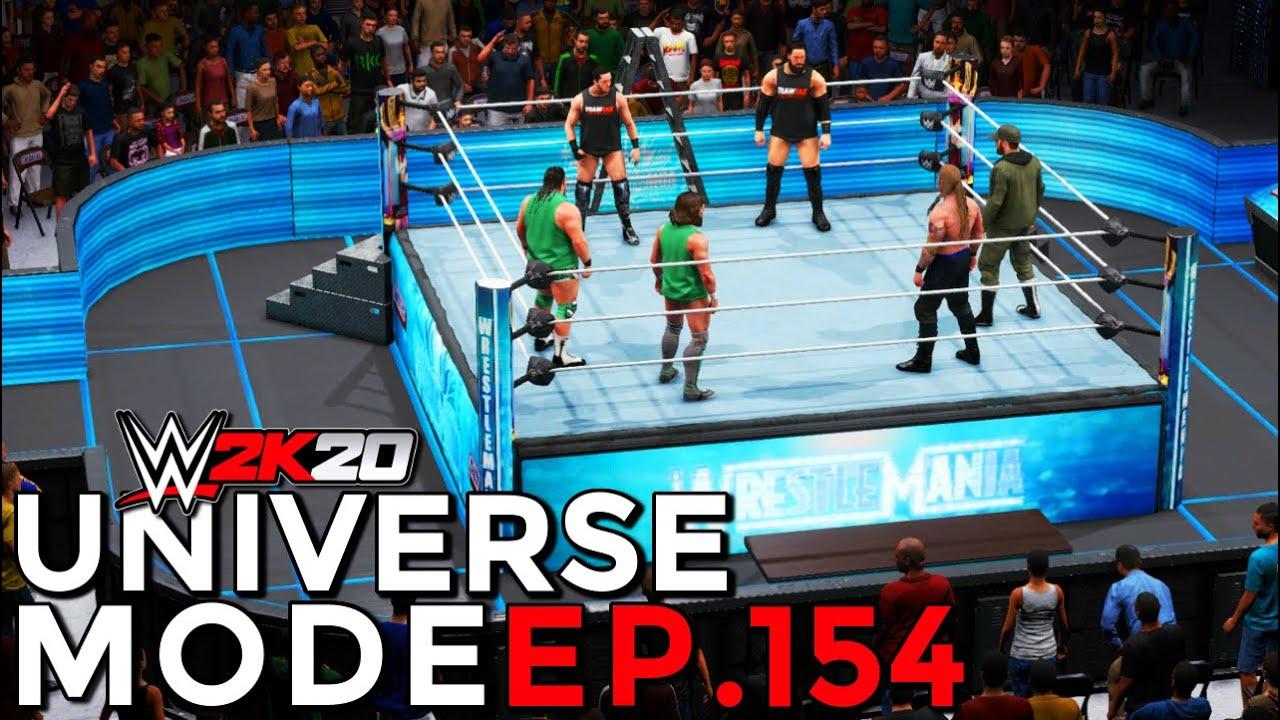 WWE 2K20 | Universe Mode - 'WRESTLEMANIA!' (PART 7/8) | #154