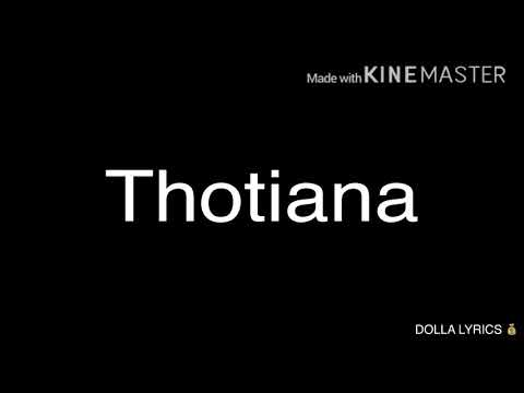 Blue Face - Thotiana [LYRICS]