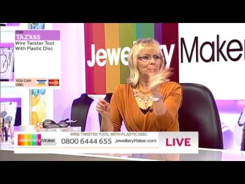 JewelleryMaker LIVE AM 23/01/2014 [Jewellery Making Findings Special Offer!]