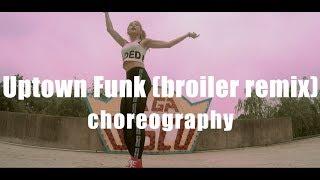 Uptown Funk - Mark Ronson(Feat.Bruno Mars) - [NEWEST Choreography]