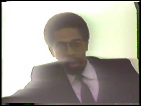 Cornel West (March 28, 1988) Part 1 of 2