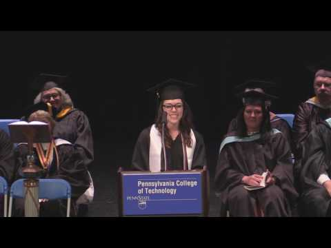 Penn College Commencement: May 14, 2016 (Afternoon)