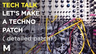 How to make a eurorack techno live patch - with Beatstep Pro and 16n Rework