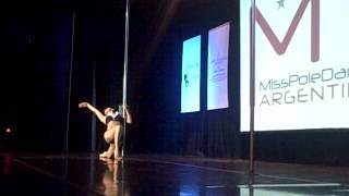 Pole Dance competition final - Miss Pole Dance Argentina & Sudamérica 2013 vid 1