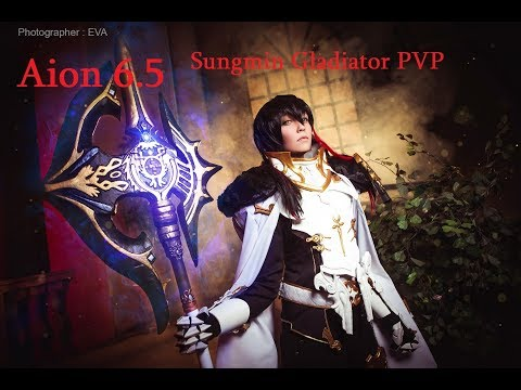 Aion 6.5 KR Sungmin Gladiator 80 lvl PVP Open World