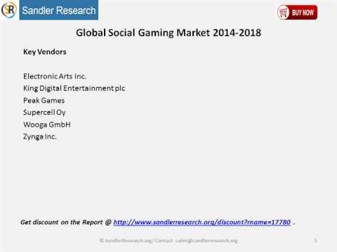 New Report 2018 Analysis Global Social Gaming Market