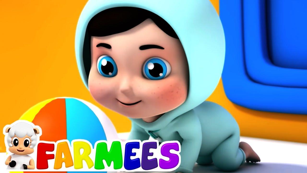 Hush bebezinho | Desenhos animado | Musica infantil portuguesa | Farmees | Vídeos pré-escolares