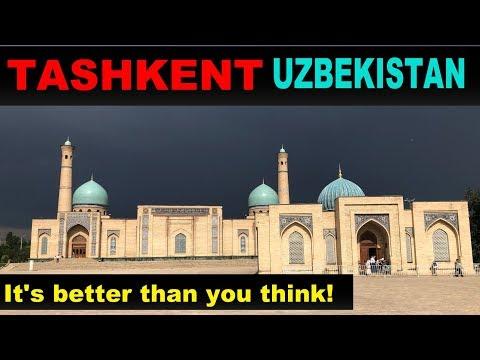 A Tourist's Guide to Tashkent, Uzbekistan
