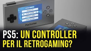 PlayStation 5: un controller per il retrogaming con display?