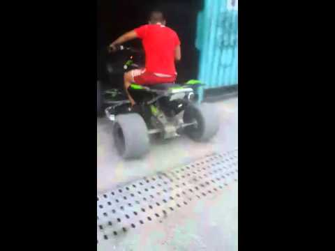 Квадроцикл kawasaki kfx 450r