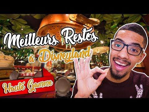 LES MEILLEURS RESTAURANTS À DISNEYLAND PARIS ! -  (Budget Élevé)