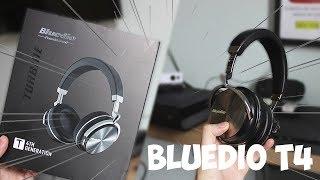 Fone bluetooth com MUITO grave e ótimo preço! | Bluedio T4 [ANÁLISE EM PORTUGUÊS]