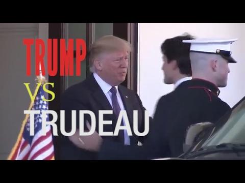 Handshake Diplomacy - Trump VS Trudeau