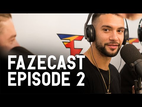 FaZeCast - Episode 2 (Trickshotting, Logic, Best Pranks, Adapt Almost Dies)