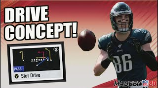 BEST way to use the Drive Concept in Madden 20!