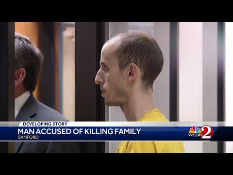Man accused of killing family in Sanford