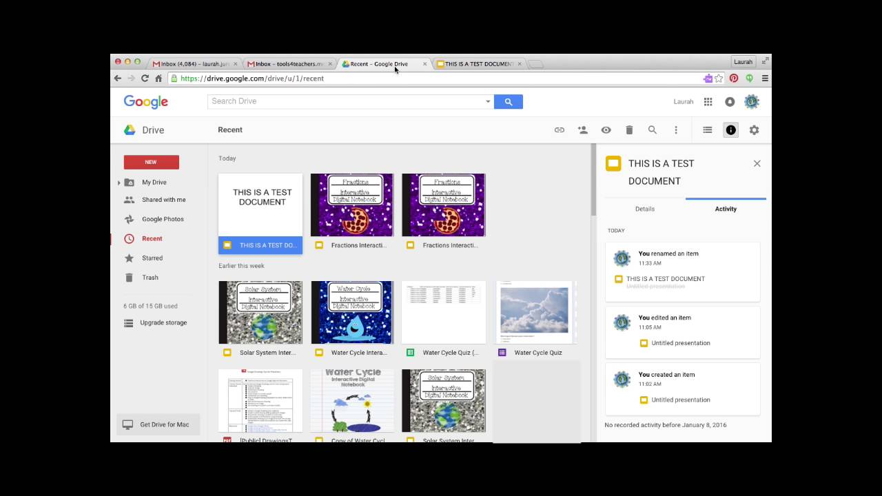 how to make html files on google drive