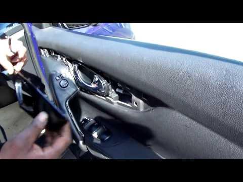 Nissan Qashqai J11 - How to open driver front door interior panel