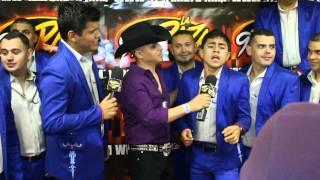 Banda Carnaval - Rocky canta Y Te Vas en acapella - Previo a Los Alegres del Barranco