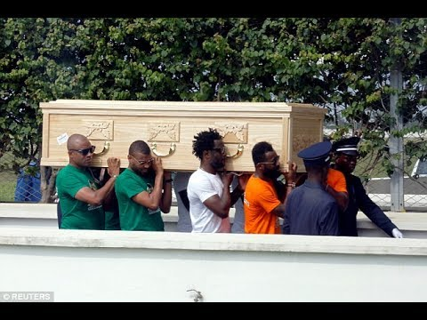Cheick Tiote's body arrives back at the Ivory Coast