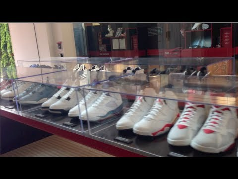 Jordan Brand HQ Lobby - Jordan Memorabilia Madness!