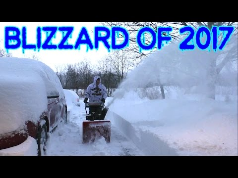 Blizzard Of 2017 - Winter Storm Stella