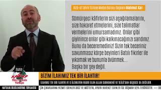 Emine Şahin Olayı /Bizim İlahımız Tek Bir İlahtır ! (HTMB Başkanı Mahmut Kar Değerlendirdi)