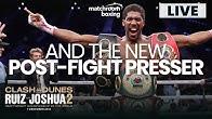 AND THE NEW! Anthony Joshua Post-Fight Press Conference | Ruiz vs Joshua 2
