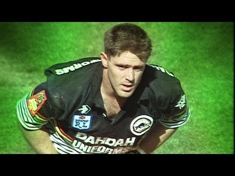 To Be The Greatest: Brad Fittler tackle on Mal Meninga in 1991 NRL Grand Final