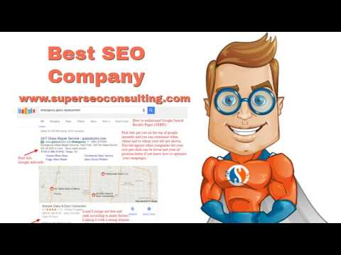 Best Glass Company Website SEO Agency Phoenix Arizona