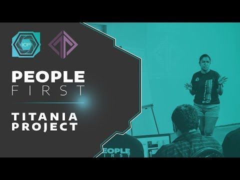 Official Titania Launch - People First Conference 2018 | Internet of People